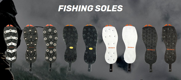 Korkers sole options